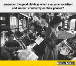 Oh, Remember The Good Old Days?