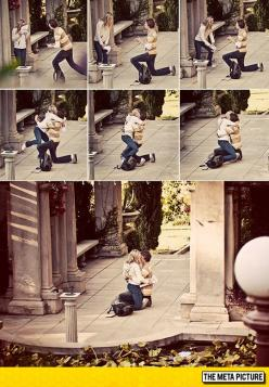 Photographer Captures Unexpected Proposal