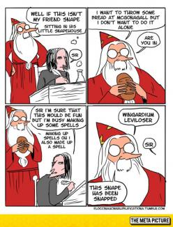 Snape Gets Owned By Dumbledore