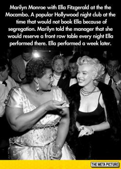 Something You Probably Didn't Know About Marilyn And Ella