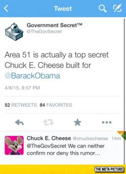 That Sounds Suspicious, Chuck E. Cheese