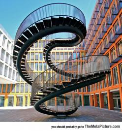 The Infinite Staircase By Olafur Eliasson