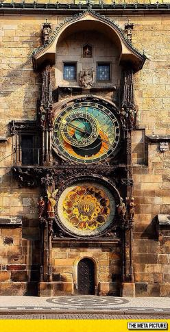 This Astronomical Clock In Prague Is 600 Years Old
