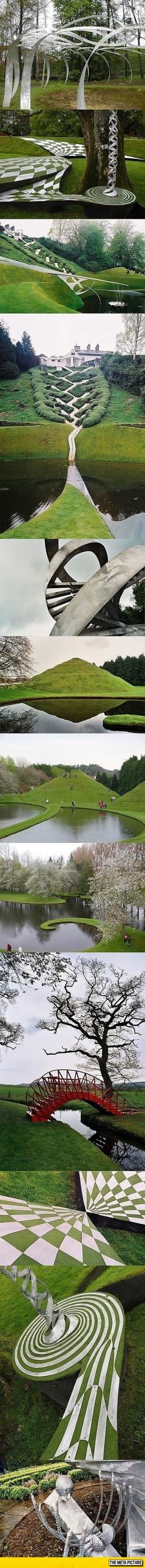 This Is The Garden Of Cosmic Speculation In Scotland