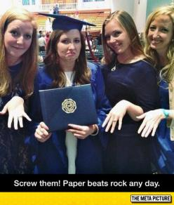 Well, Paper Beats Rock