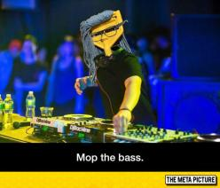 When You Replace Skrillex With A Mop