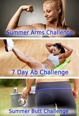 Top 3 Fitness Challenges ~ Arms, Abs, and Butt Workouts: Arm Challenge, 7 Day Arm, Workout Challenge, Fitness Exercise, 7 Day Fitness Challenge, Exercise Fitness, Butt Workout, Fitness Challenges