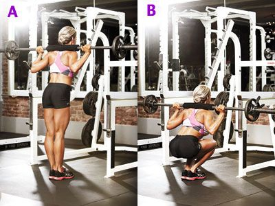 Try the narrow-distance squat to work your glutes, quads, and hamstrings with Aleisha Hart demonstrating the move.: Legs Workout, Shapely Legs, Fitness Workout Exercise Train, Leg Workouts Gym, Leg Routine, Hamstring Workout, Killer Workouts, Rockin Leg