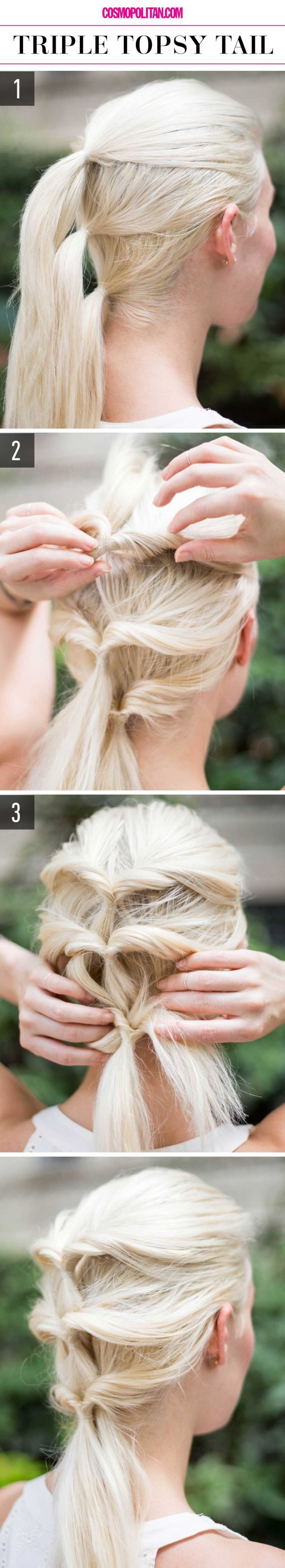 15+Super-Easy+Hairstyles+for+Lazy+Girls+Who+Can't+Even+  - Cosmopolitan.com: Hair Styles, Lazy Girl Hairstyles, Cant, 15 Super Easy, Super Easy Hairstyles, Beauty, Lazy Girls