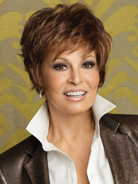 16 Short Hairstyles for Thick Hair | Olixe - Style Magazine For Women: Raquelwelch, Short Cut, Haircuts, Hair Styles, Color, Hair Cuts, Short Hairstyles, Wigs, Raquel Welch