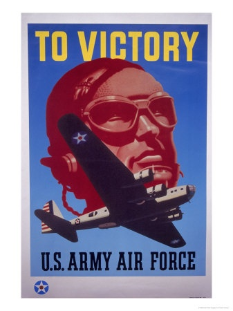 Air Force WWII poster: Airplane, Force Wwii, Wwii Photos, Wwii Posters, Bold Colors
