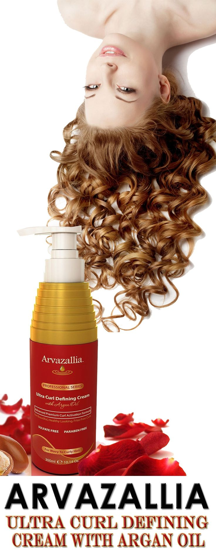 Arvazallia Ultra Curl Defining Cream with Argan Oil is Guaranteed to Give You Beautiful, Soft, Natural Looking, Frizz Free Curls. Click Here Now To Learn More >> http://www.arvazallia.com/ultracurlcreampinpromo: Best Curl Products, Curl Hair Product