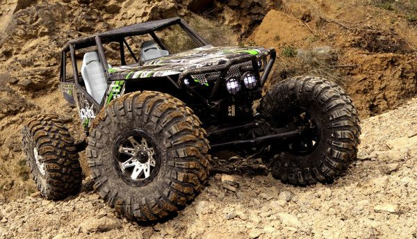 AX90018 - Axial Wraith 4WD Rock Racer RTR 1:10 - CKRC Hobbies   #ckrchobbies: Ckrc Hobbies, Rock Crawler, 4X4, 1 10, Axes, Hobbies Ckrchobbies