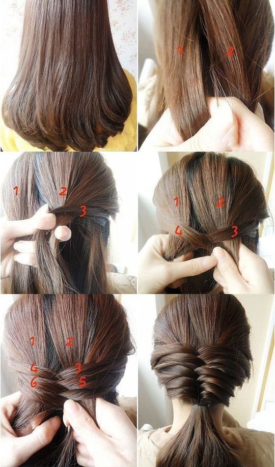 Best Hairstyle Tutorials For Everyday. Ill try this one when I straighten my hair out.: Hair Ideas, Hairstyles, Hair Styles, Makeup, Hair Tutorial, Braids, Beauty