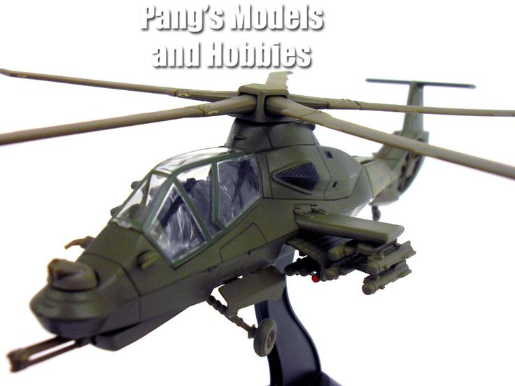 Boeing–Sikorsky RAH-66 Comanche 1/72 Scale Diecast Helicopter Model by Amercom: Diecast Helicopter, Boeing Sikorsky Rah 66, Scale Diecast, 1 72 Scale, Comanche 1 72