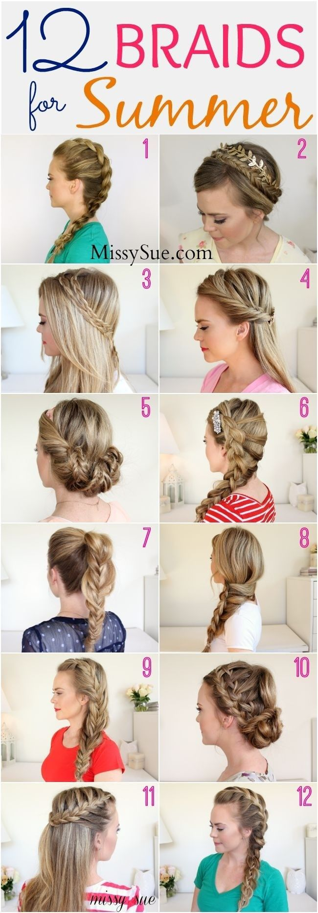 Braided hairstyle looks charming and luscious. If you want to add some special factors to your hair, you can try out the braided hairstyle. In this article, we will list you some impressive braided hairstyle. Rope Braid This charming braided hairstyle wor