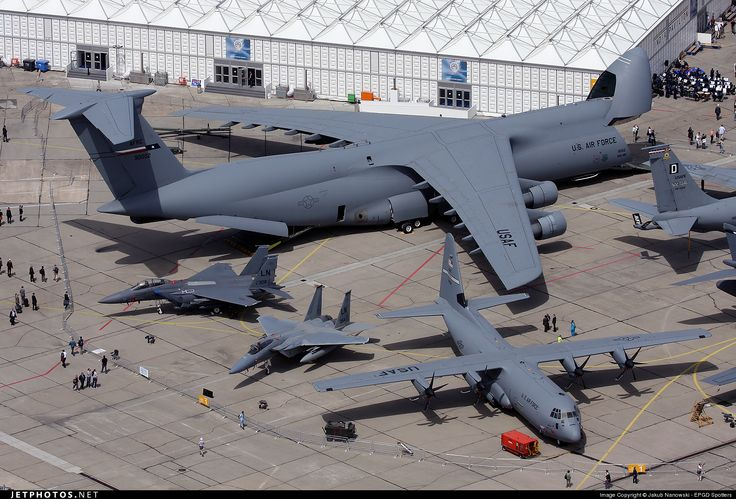 C-5, C-130 and F-15's: C 130 Hercules, Aviation, Military Aircraft, Galaxies, Air Force, Photo, Planes