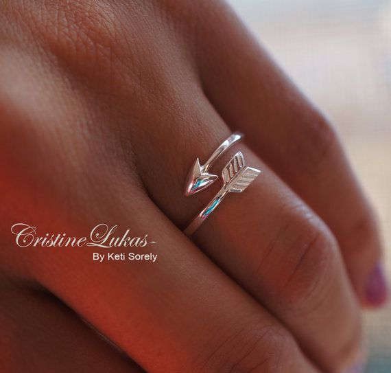 Celebrity Style Sideways Arrow Ring By Pass by CristineLukas: Arrow Ring, Celebrity Style, Sideways Arrow, Style Sideways, Sterling Silver, Pass Arrow