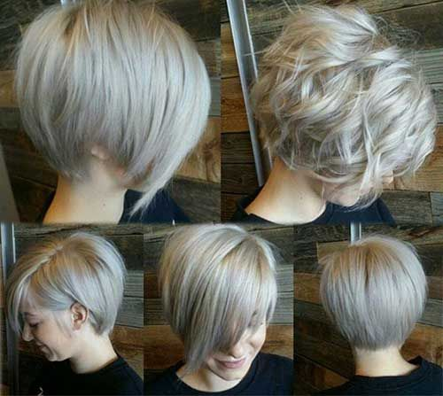 Different Hairtyles for Cute Blonde Bob: Short Hairstyles For Women, Layered Bob, Short Blonde Hairstyle, Short Blonde Bob, Hair Cut, Hairstyles 2015, Blonde Hairstyles