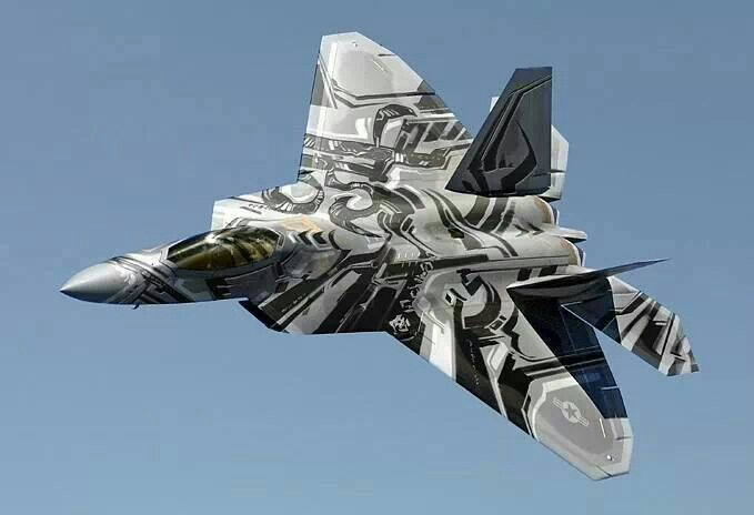 ..._F-22 raptor looking like the new look of the decepticon Starscream.: F22 Raptor, Airplanes Jets Helicopters, F 22 Raptor, Stuff, Aircraft, Tattoo, Raptors
