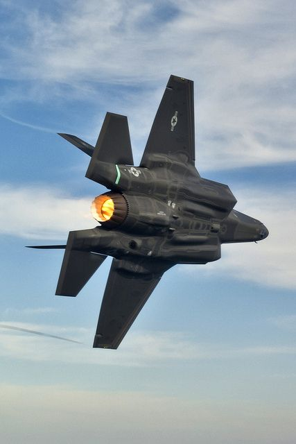 F-35A Lightning II in Flight. It really should be called the Phantom III given how fat and ungainly it is.: Flight, Airplanes, Air Force, F 35, Aircraft, Fighter Jets, F35, Military