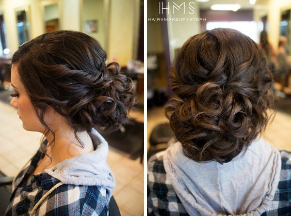 Hair and Make-up by Steph: Behind the Chair X: Hair Ideas, Hairstyles Prom, Prom Updo, Short Hair Updo, Wedding Updo, Hair Styles Updos, Wedding Hairstyles, Hair Color