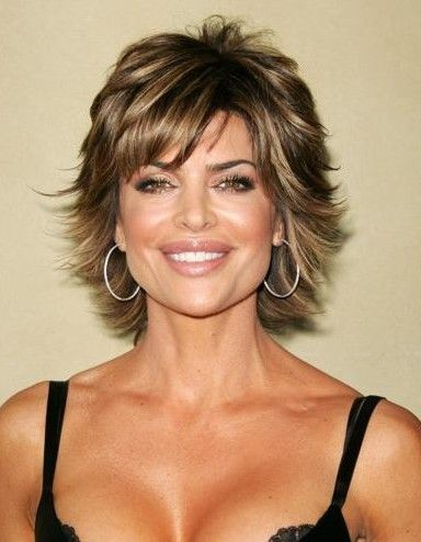 hairstyles and color for women over 50   I've always wanted this but can never pull it off!  Guess I don't have the right hair and would KILL for that face! (minus the lips): Hair Ideas, Bing Images, Short Hair Styles, Hair Cuts, Short Hairstyles,