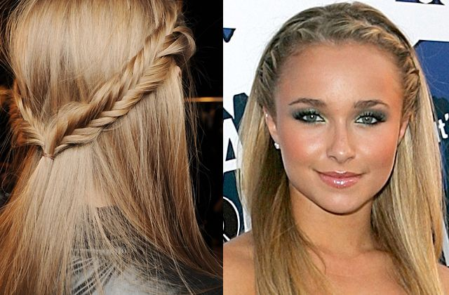 hairstyles for thick hair! FINAALLY!!  I probably won't have the ability or patience to do most of these but I figure it's worth looking at.: Hair Ideas, Pretty Braid, Fish Tail, Hair Styles, Hair Beauty, Hair Makeup, Fishtail Braids, Braided Hair