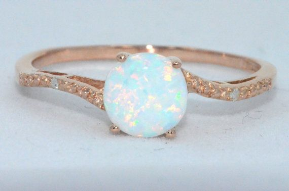 Hey, I found this really awesome Etsy listing at http://www.etsy.com/listing/150403127/opal-diamond-ring-14kt-rose-gold-plated: 14Kt Rose, Diamond Rings, Engagement Ring, Opals, Rose Gold