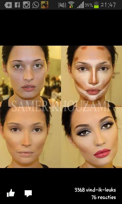 INTERESTING. I want as natural as can be but this is good to know as far as what to highlight and what not to. Victoria secret makeup tutorial♡ #makeuptransformation in #triedntested.: Face, Contours, Beauty Tips, Make Up, Style, Makeup Ideas, Hair, Conto