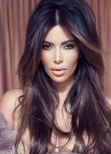 Long hair layers..love!: Kimkardashian, Hairstyles, Hair Colors, Kim Kardashian, Hair Styles, Haircolor, Makeup, Big Hair, Beauty