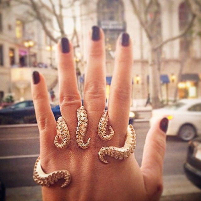 Octopus ring: Fashion, Diamond Octopus, Jewelry, Rings, Octopuses