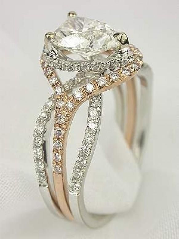 Cat Shaped Engagement Rings