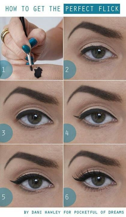 Pin Up Makeup: Make Up, Perfect Flick, Beauty Tips, Eye Makeup, Eyeliner, Style, Cat Eyes, Tutorial, Hair