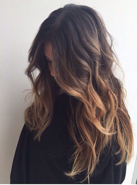 Pinterest: icev0dka ☪: Brunette Color, Fall Brunette Hair Color, Fall Hair Color Highlights, Colored Hair Highlights, Fall Hair Highlights, Ombre Hair Brunette, Fall Highlights, Brunette Hair Colors, Fall Hair Brunette