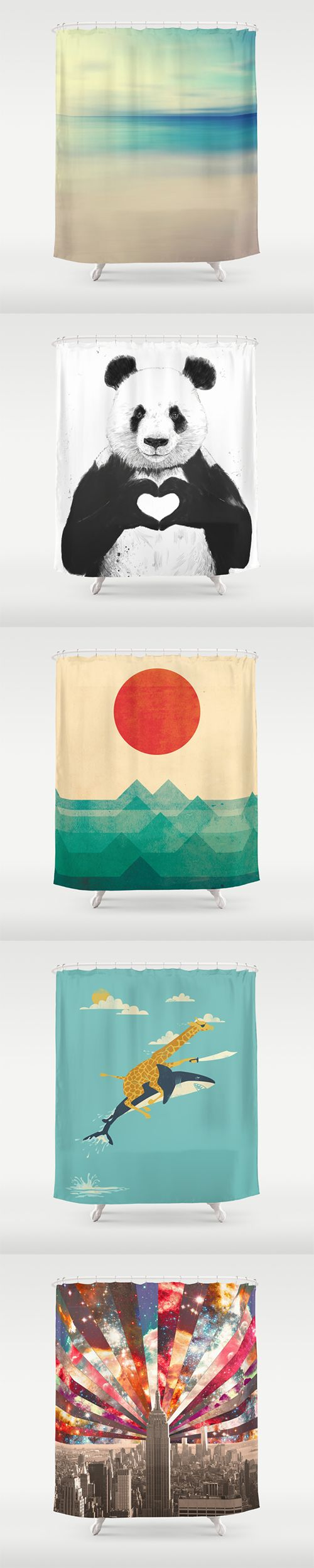 Shower Curtains and millions of other products available at Society6.com today. Every purchase supports independent art and the artist that created it.: