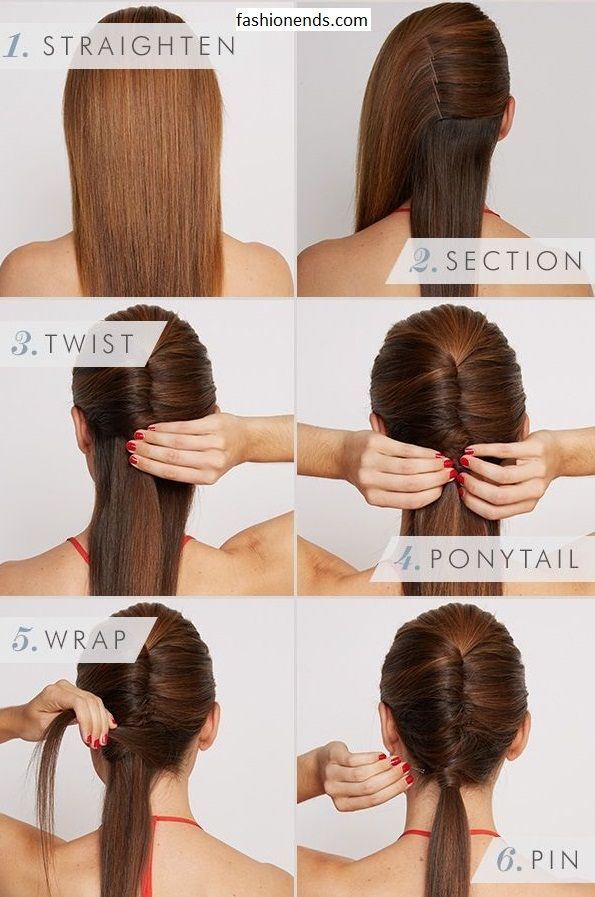 Sleek Vixen Hair We have an easy and amazing hairstyle for collage girls, school girls and for working women, it can be made easily and it just take few minutes and need only few hair pins, it is suitable for winter and summer season. How To Make must Try