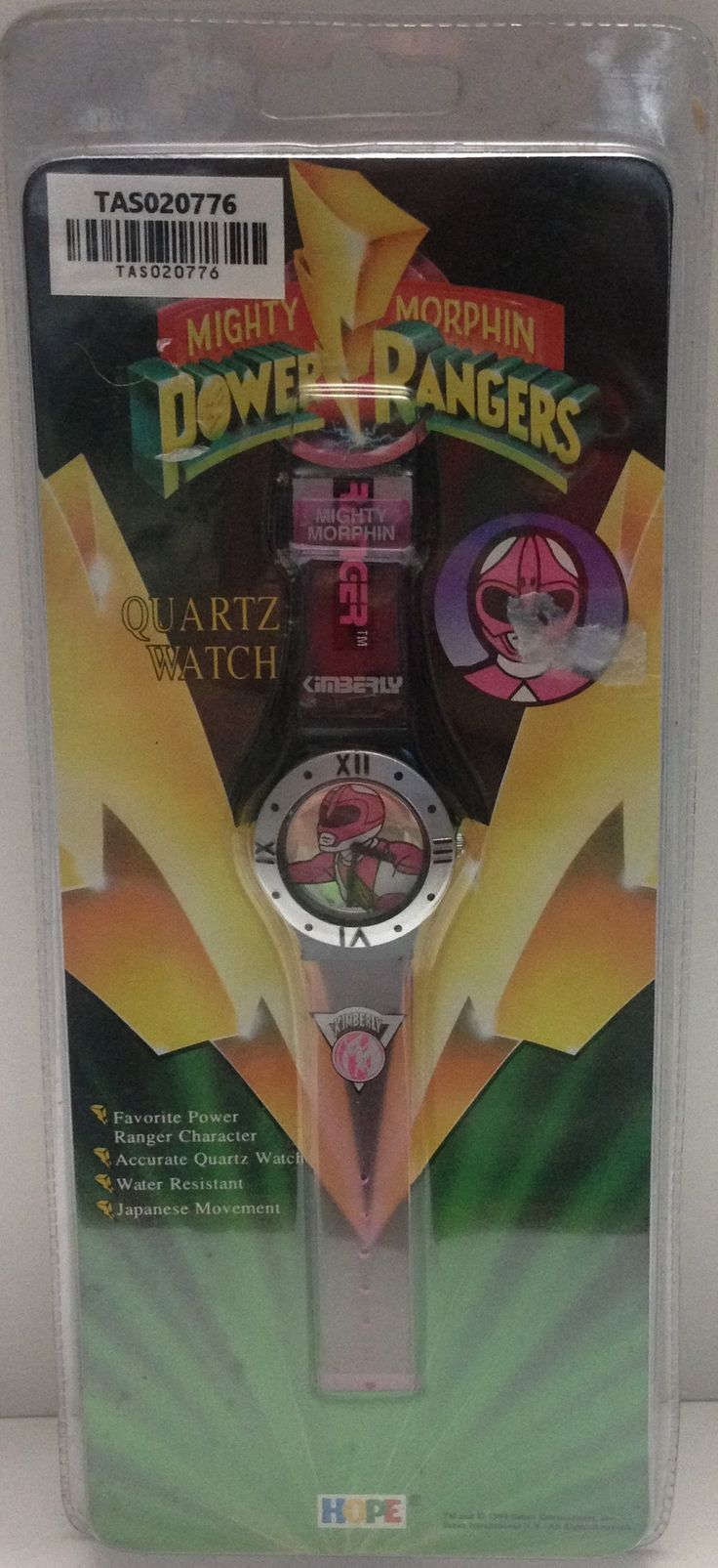 (TAS020776) - Mighty Morphin Power Rangers Quartz Watch - Pink Ranger: Angry Spider, Action Figures, Power Rangers, Spider Vintage, Rangers Quartz
