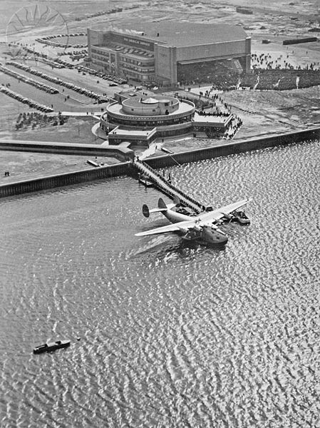 The Boeing B-314 Pan Am Clipper was one of the most amazing aircraft ever made. It set the standards for long distance flight luxury that has yet to be surpassed. Up to 24 passengers could be moved across the ocean. The plane had bedrooms, dining rooms, k