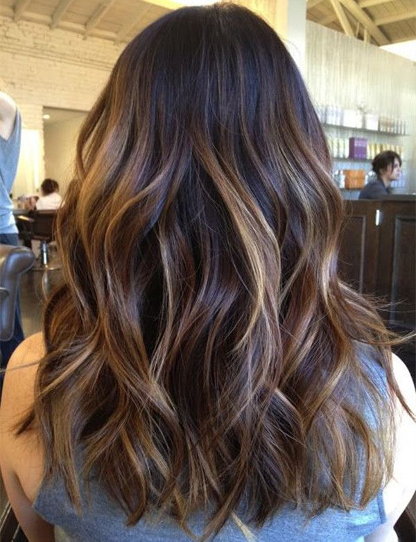 Top 20 Best Balayage Hairstyles for Natural Brown: Balayage Highlight, Hair Cut, Hairstyle, Hair Style, Brunette Highlight, Haircut, Hair Color, Hair Colour, Brown Highlight