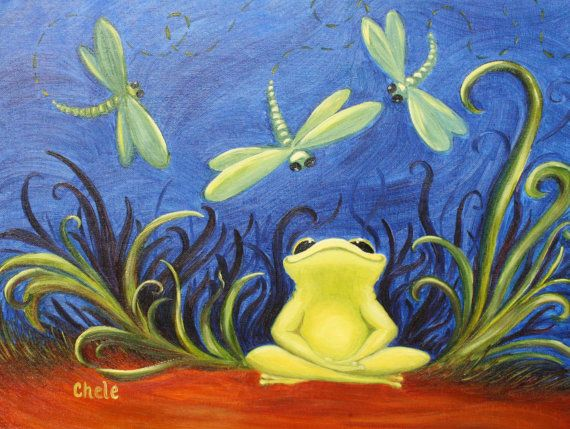 Twinkle Frog Art Print- Original Artwork: Feeling Froggy, Feeling Froggie, Art Prints, Frogs Art, Courting And Toads, Frog Art, Project Craft Ideas