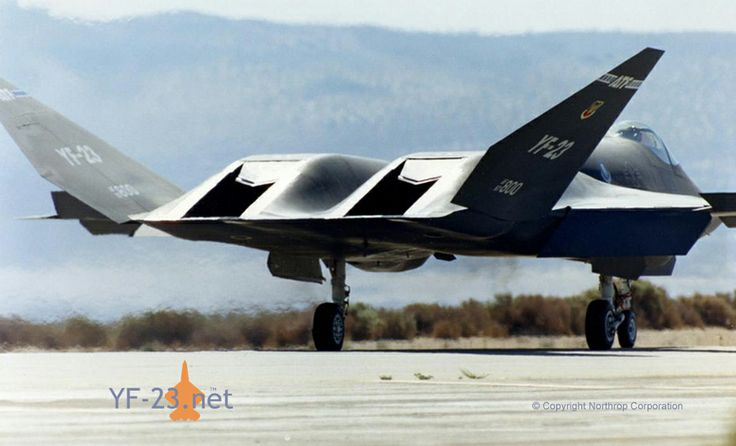 YF-23 Black Widow.  This was the better looking ATF competitior: Black Widow, Military Planes, Yf23, Aircraft, War Planes, Jet Planes
