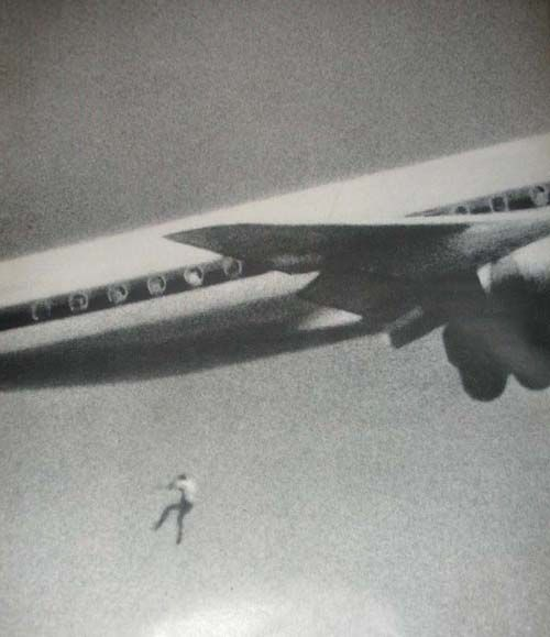 """""""All my son wanted was to see the world"""".    Keith Sapsford, 14, Australian, hid in the wheel housing of a Japan Air Lines Tokyo-bound jet in Sydney. John Gilspin, an amateur photographer, was testing his new camera lens as the plane took off and"""