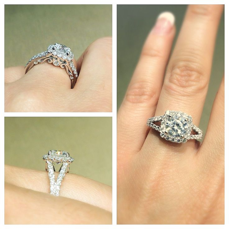 A stunning Verragio Engagement Ring with beautiful detail. Style# INS-7046  **Available at South Coast Jeweler**: Vintage Style Engagement Rings, Dream Rings, Engagement Ring Styles, Stunning Verragio, Wedding Rings, Verragio Engagement, Coast Jeweler