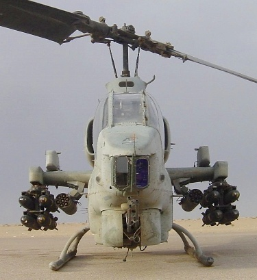 AH-1WSC of MMH-263 loaded for a mission: Aircraft Helicopters, Posts, Cobra Helicopters