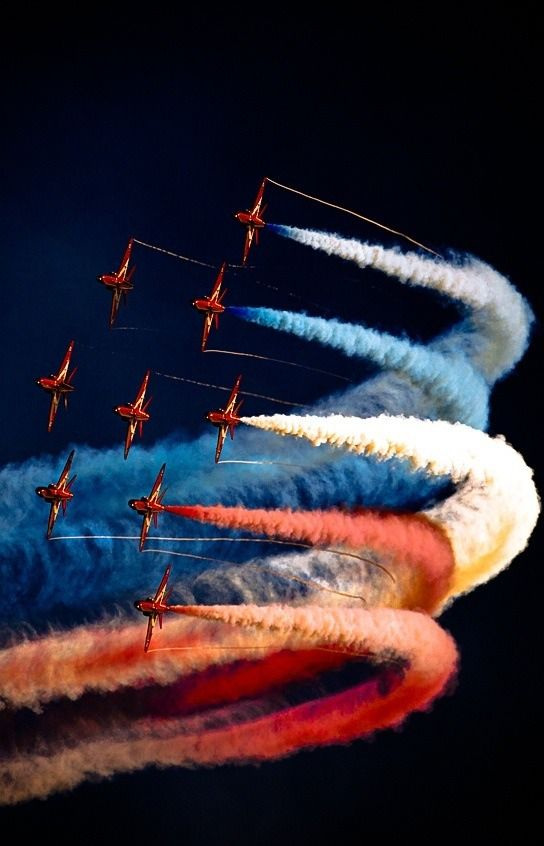 Air Show showing the colors of our nations flag. Gave me hope and patriotism to our nation: Aviation, Red Arrows, Airplanes, Aircraft, Red White, Jet, Photography