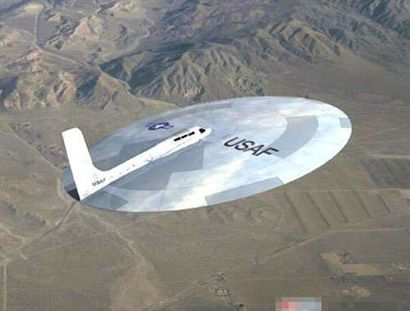 AirForce experimental Flying Disk: Air Force, Flying Saucer, Airplane, Aircraft, Strange Aircraft, Ufo, Photo, Planes