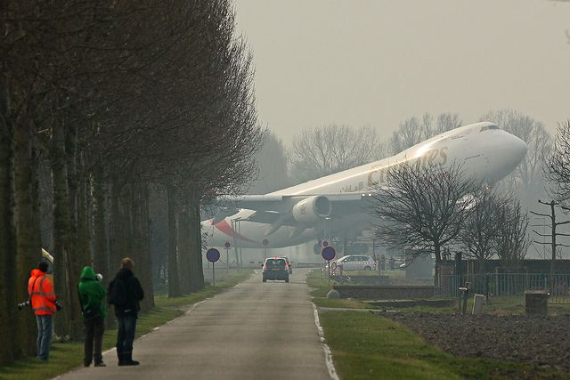 Emirates 747-400 taking off from rw2 at Schipol, Netherlands: Photos, Flying, Emirates, Aviation, Airplanes, Aircraft, Airline