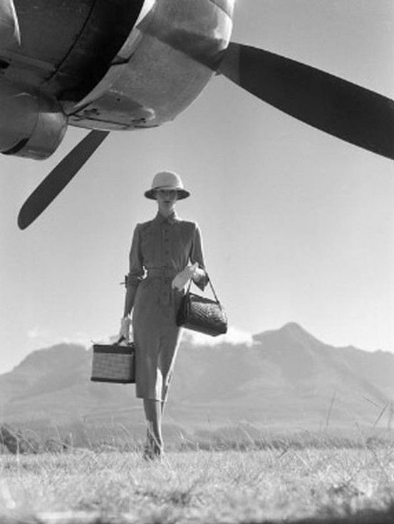 Go to the airport / train station and catch a flight / train to a random destination: Photos, Normanparkinson, Inspiration, Style, Vintage, Art, Norman Parkinson, Travel, Fashion Photography