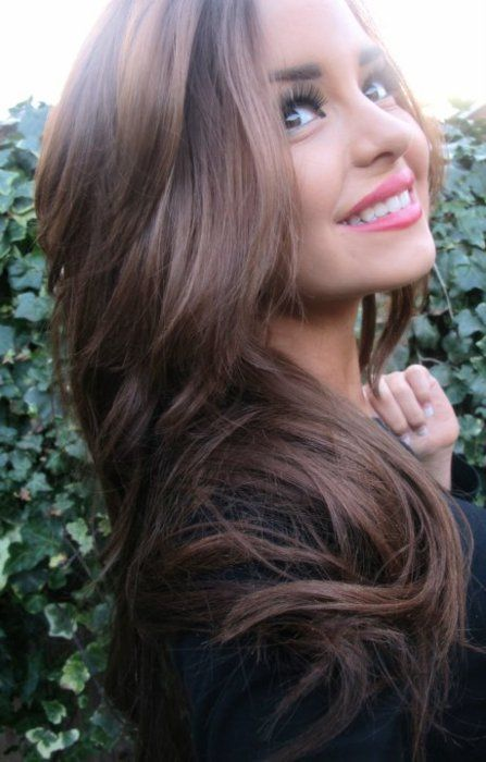 gorgeous color and length - Get $100 worth of beauty samples: Hair Ideas, Hairstyles, Hair Colors, Hair Styles, Haircolor, Makeup, Hair Cut, Haircut, Hair Colour